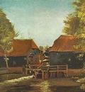 Water Mill at Kollen Near Nuenen