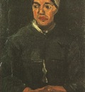Peasant Woman, Seated Half Figure