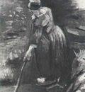 Peasant Woman Raking