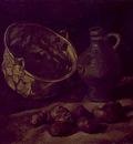 Still Life with Brass Cauldron and Jug
