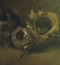 Still Life with Three Birds Nests