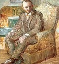 87 Portrait of the Art Dealer Alexander Reid, Sitting in an Easy Chair