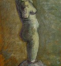 plaster statuette of a female torso version