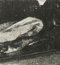Still Life with Two Herrings, a Cloth and a Glass