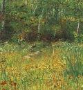 Park at Asnieres in Spring
