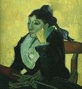 LArlesienne Madame Ginoux with Gloves and Umbrella