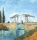 langlois bridge at arles, the version