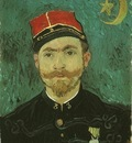 Portrait of Milliet, Second Lieutenant of the Zouaves