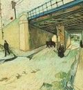 Railway Bridge over Avenue Montmajour, Arles, The