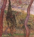 garden of saint paul hospital, the version