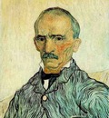Portrait of Trabuc, an Attendant at Saint Paul Hospital