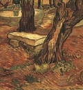 Stone Bench in the Garden of Saint Paul Hospital, The