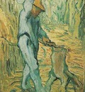 Woodcutter after Millet , The