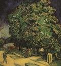 Chestnut Trees in Blossom