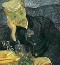 portrait of doctor gachet version