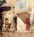 Alberto Pasini Outside The Mosque
