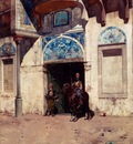 Alberto Pasini The Palace Guard
