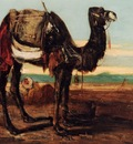 Alexandre Gabriel Decamps A Desert Landscape