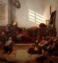 Alexandre Gabriel Decamps A Turkish School