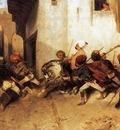 Alexandre Gabriel Decamps The Turkish Patrol