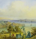 Amedeo Preziosi View To Bosphorus