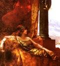 Benjamin Jean Joseph Constant Limperatrice Theodora Au Colisee