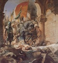 Benjamin Jean Joseph Constant The Entry Of Mahomet II Into Constantinople