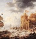 Bonaventura Peeters An Oriental Harbour
