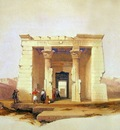 David Roberts Temple Of Dendour