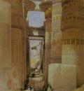 David Roberts Temple Of Karnak