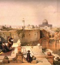 David Roberts View To Masjid Al Aqsa