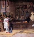 Edouard Castres At The Japanese Market