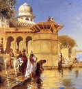 Edwin Lord Weeks Along The Ghats Mathura