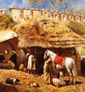 Edwin Lord Weeks Blacksmith Shop At Tangiers