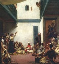 Eugene Delacroix Jewish Wedding In Morocco