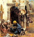 Eugene Pavy An Arab Bazaar