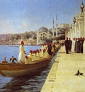 Fausto Zonaro Boats Of tThe Sultan