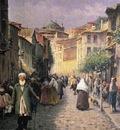 fausto zonaro street scene