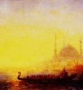 Felix Ziem Constantinople Au Soleil Couchant
