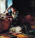 Frederick Arthur Bridgman A Woman Of Morocco