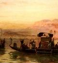 Frederick Arthur Bridgman Cleopatras Barge