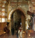Frederick Goodall The Grand Bazaar