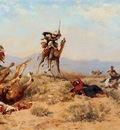 Georges Washinton The Skirmish