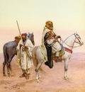 Giulio Rosati A Rest In The Desert