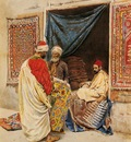 Giulio Rosati The Carpet Merchant