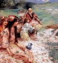 Henry Siddons Mowbray Oriental Fantasy