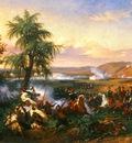Horace Vernet The Battle Of Harba