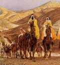 James Jacques Joseph Tissot Journey Of The Magi