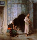 Jean Leon Gerome A Chat By The Fireside