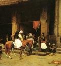Jean Leon Gerome A Street Scene In Cairo